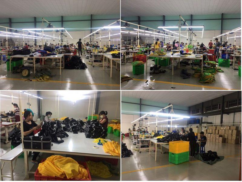 Xưởng sản xuất balo túi xách