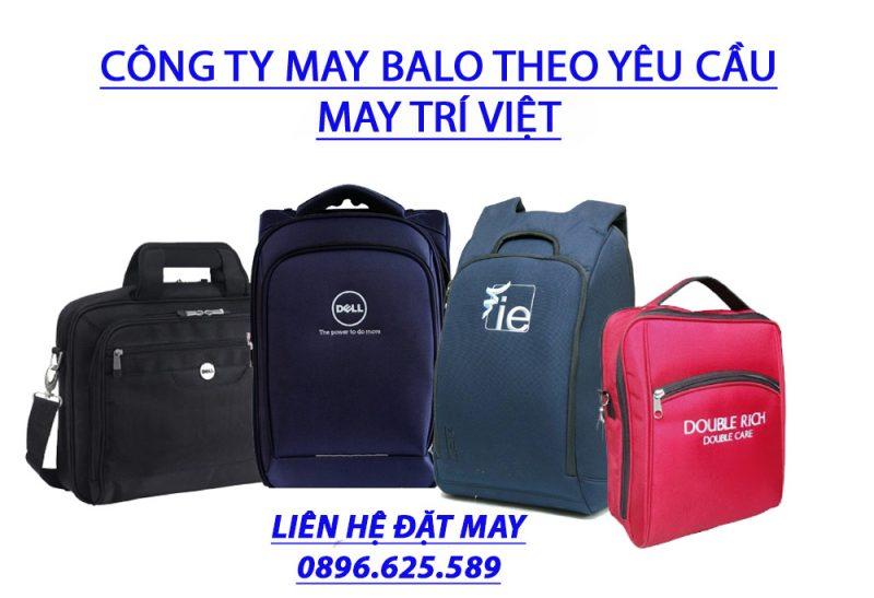 Những ưu điểm khi đặt may balo theo yêu cầu tại Trí Việt
